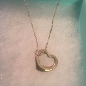 Tiffany Elsa Peretti Small Silver Heart